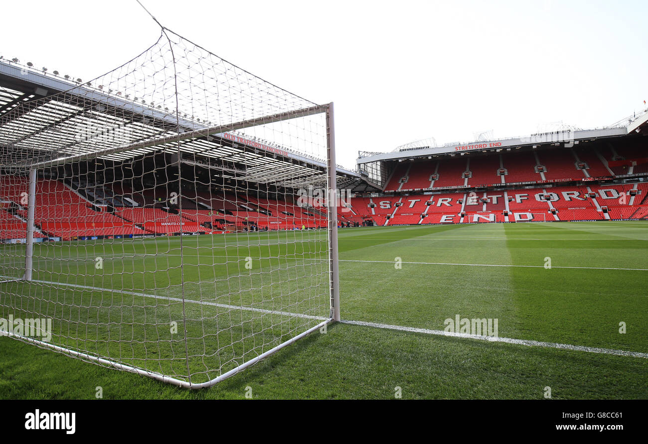 Soccer - Barclays Premier League - Manchester United v Manchester City - Old Trafford - Stock Image