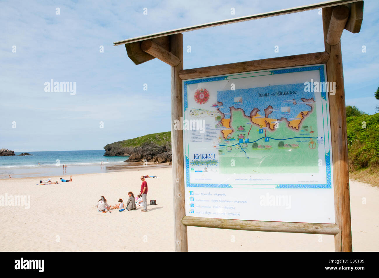 Barro beach. Barro, Asturias, Spain. - Stock Image