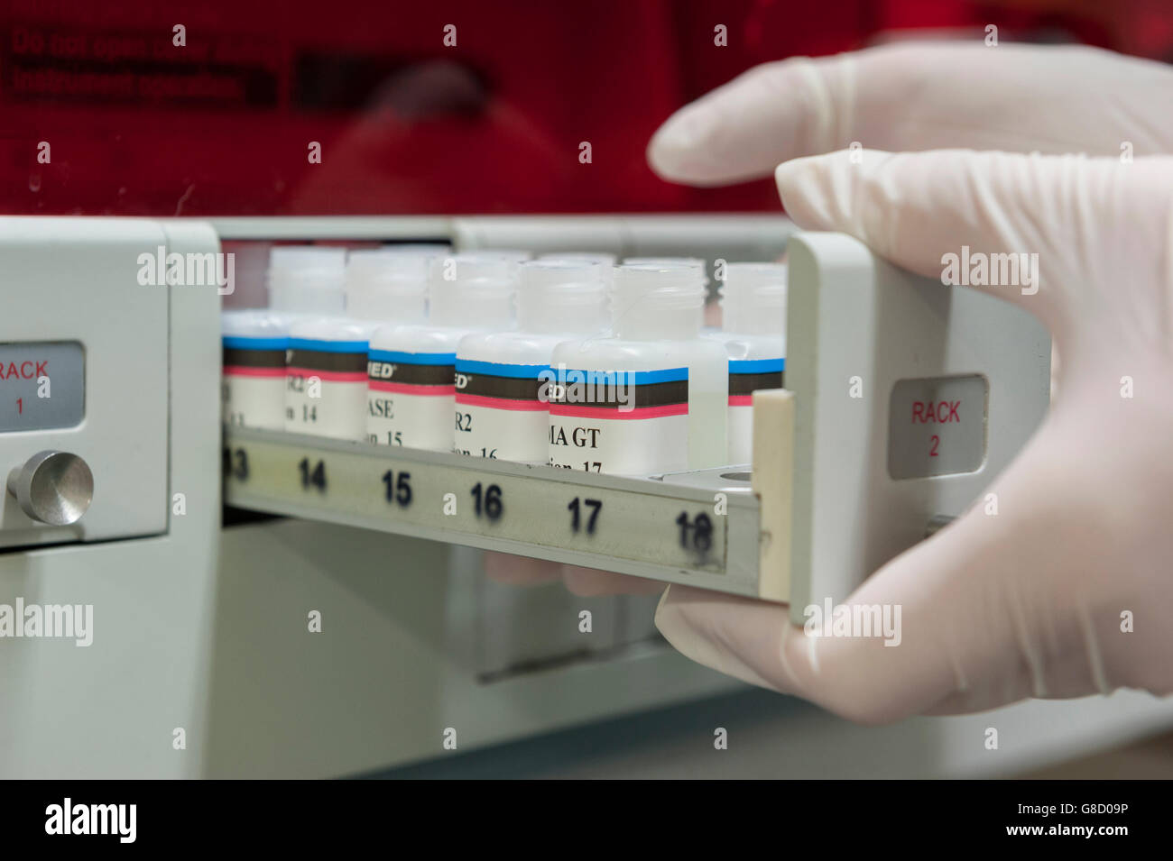 Vets diagnostics equipment. England. UK - Stock Image