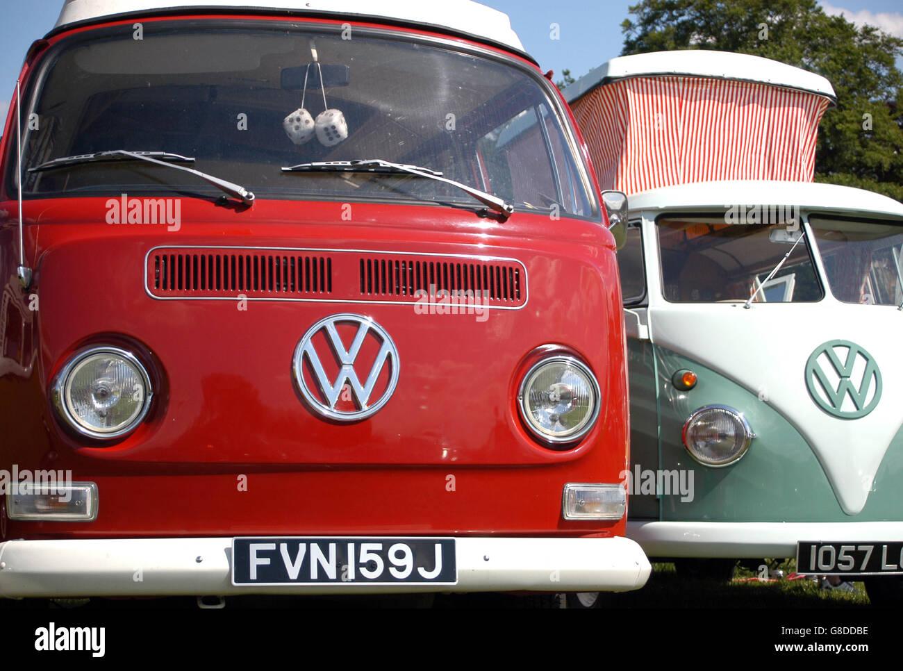 Volkswagen Festival - Harewood House - Stock Image