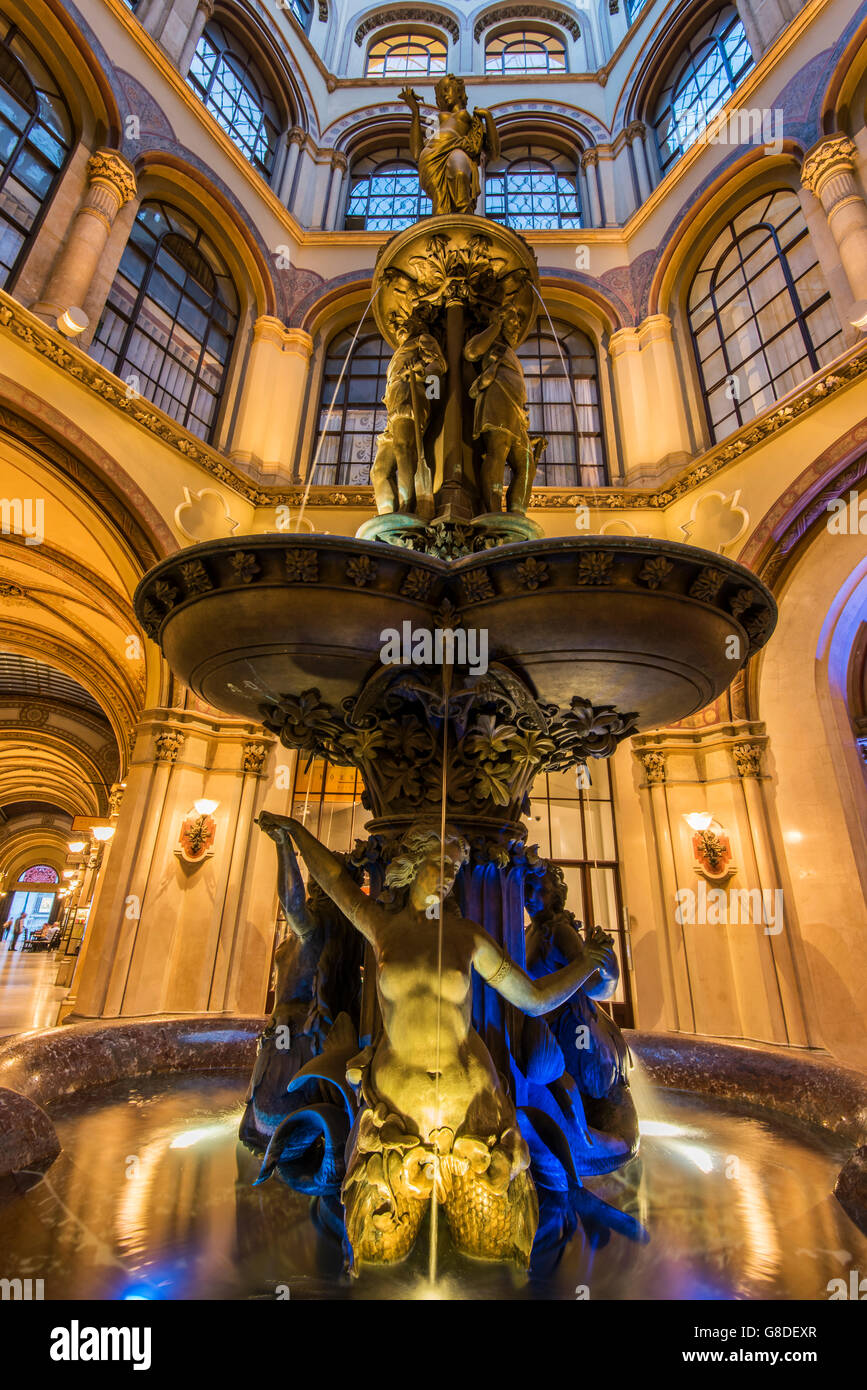 Palais Ferstel, Vienna, Austria - Stock Image