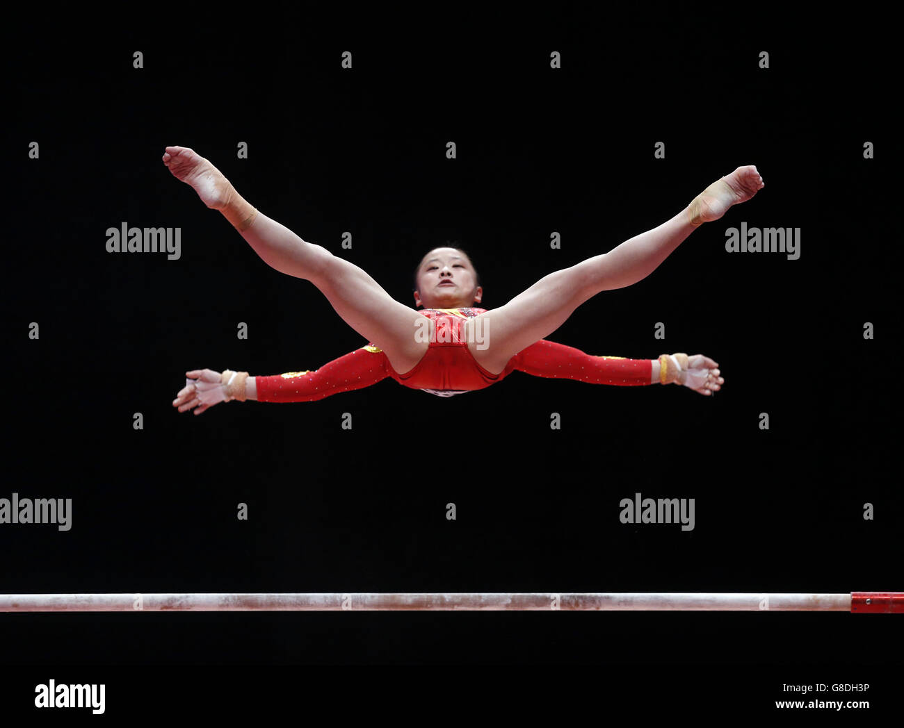 Gymnastics - 2015 World Championships - Day Five - The SSE Hydro - Stock Image