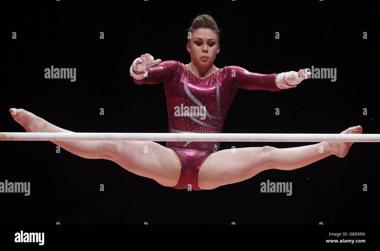 Gymnastics - 2015 World Championships - Day Seven - The SSE Hydro - Stock Image