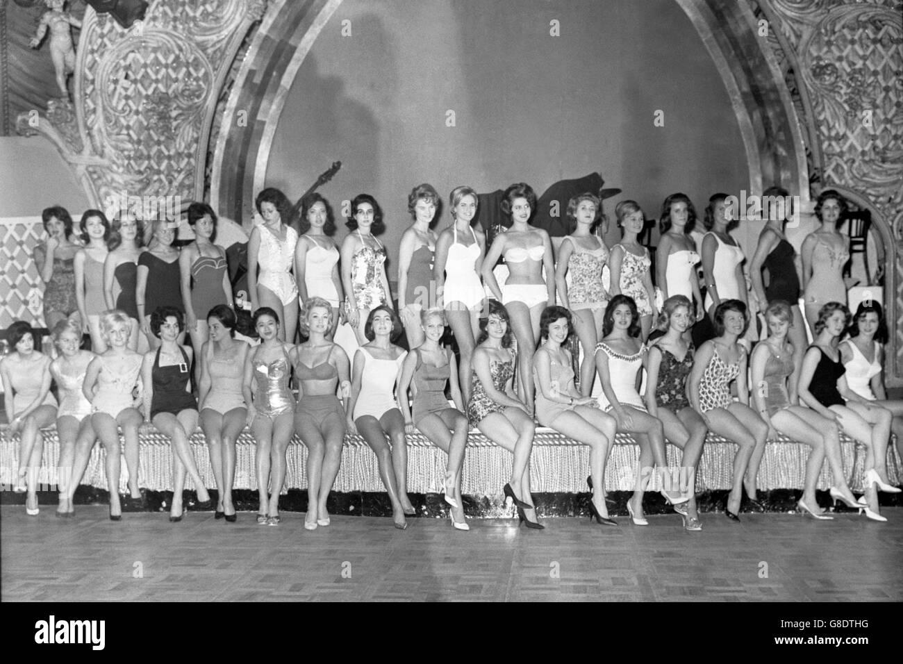 Miss World 1960 Stock Photos & Miss World 1960 Stock
