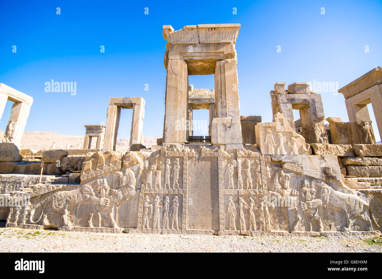 Persepolis The Ancient Capital Of The Persian Empire Stock Photo Alamy