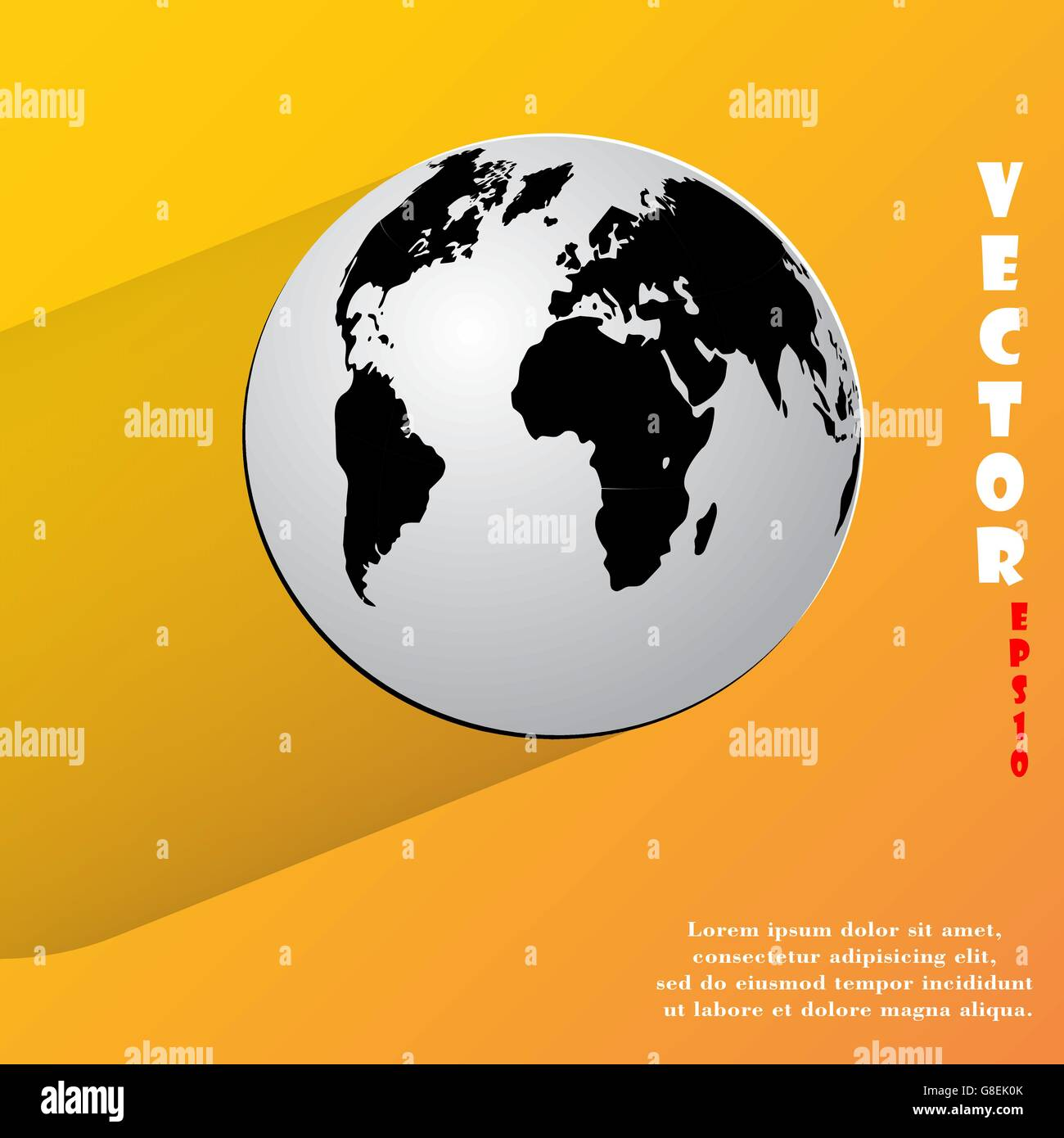 World map vector vectors stock photos world map vector vectors world map web icon flat design vector illustration eps10 stock image gumiabroncs Image collections