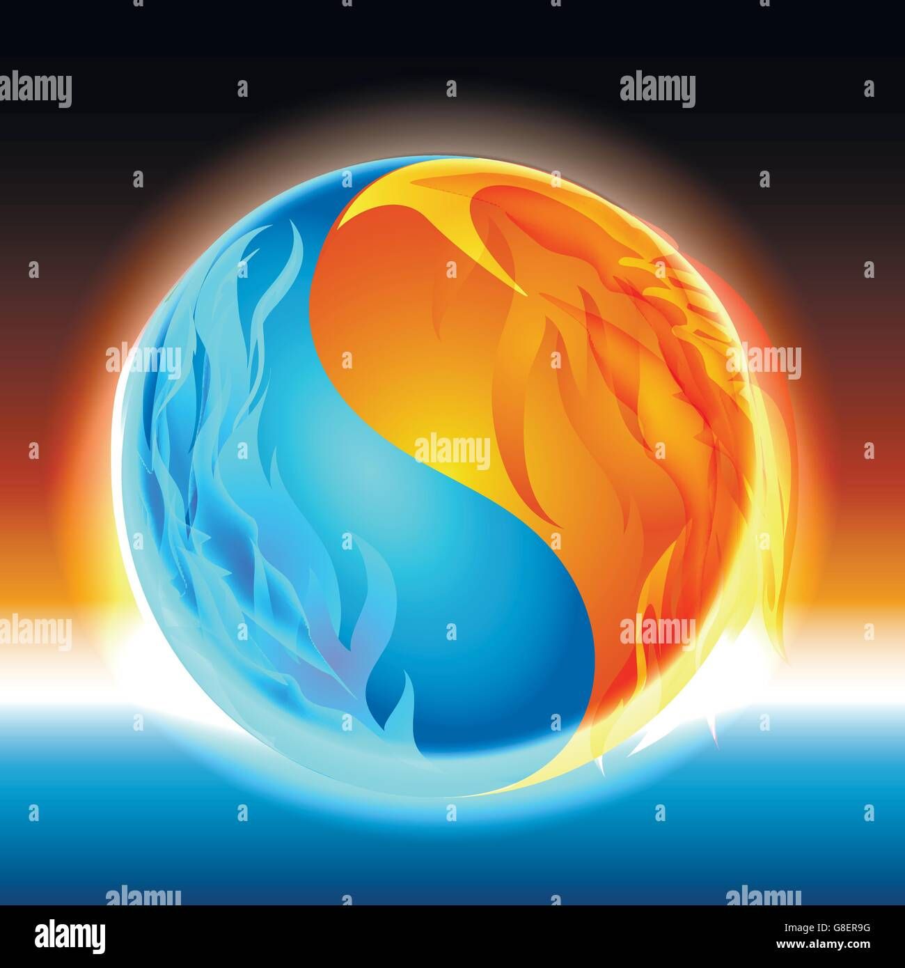 24+ Fire And Ice Yin Yang Pictures