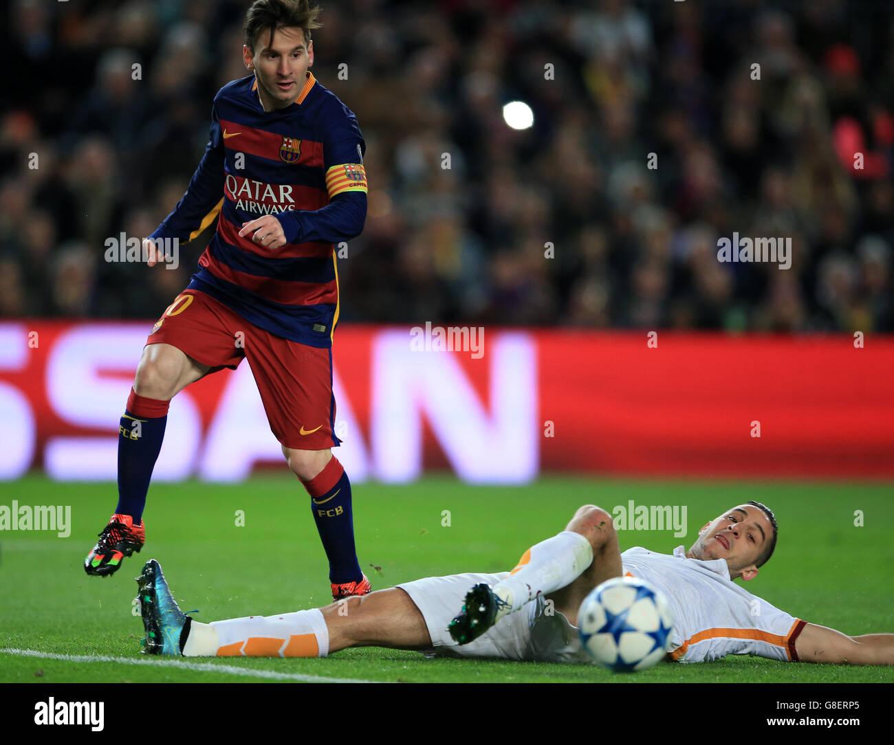 Champions League Roma Vs Barcelona: Lionel Messi Barcelona 2016 Stock Photos & Lionel Messi