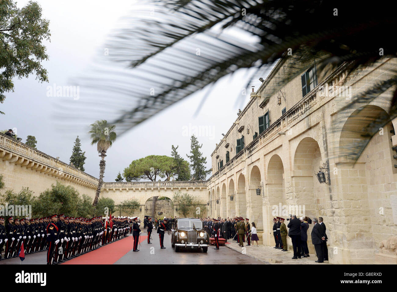 Commonwealth Heads of State Meeting - Malta - Day 1 - Stock Image