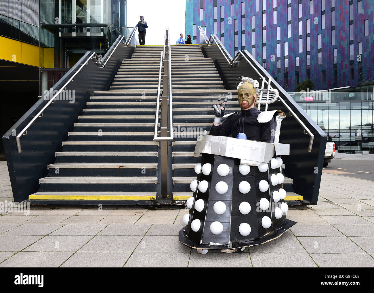 Doctor Who Festival - London - Stock Image