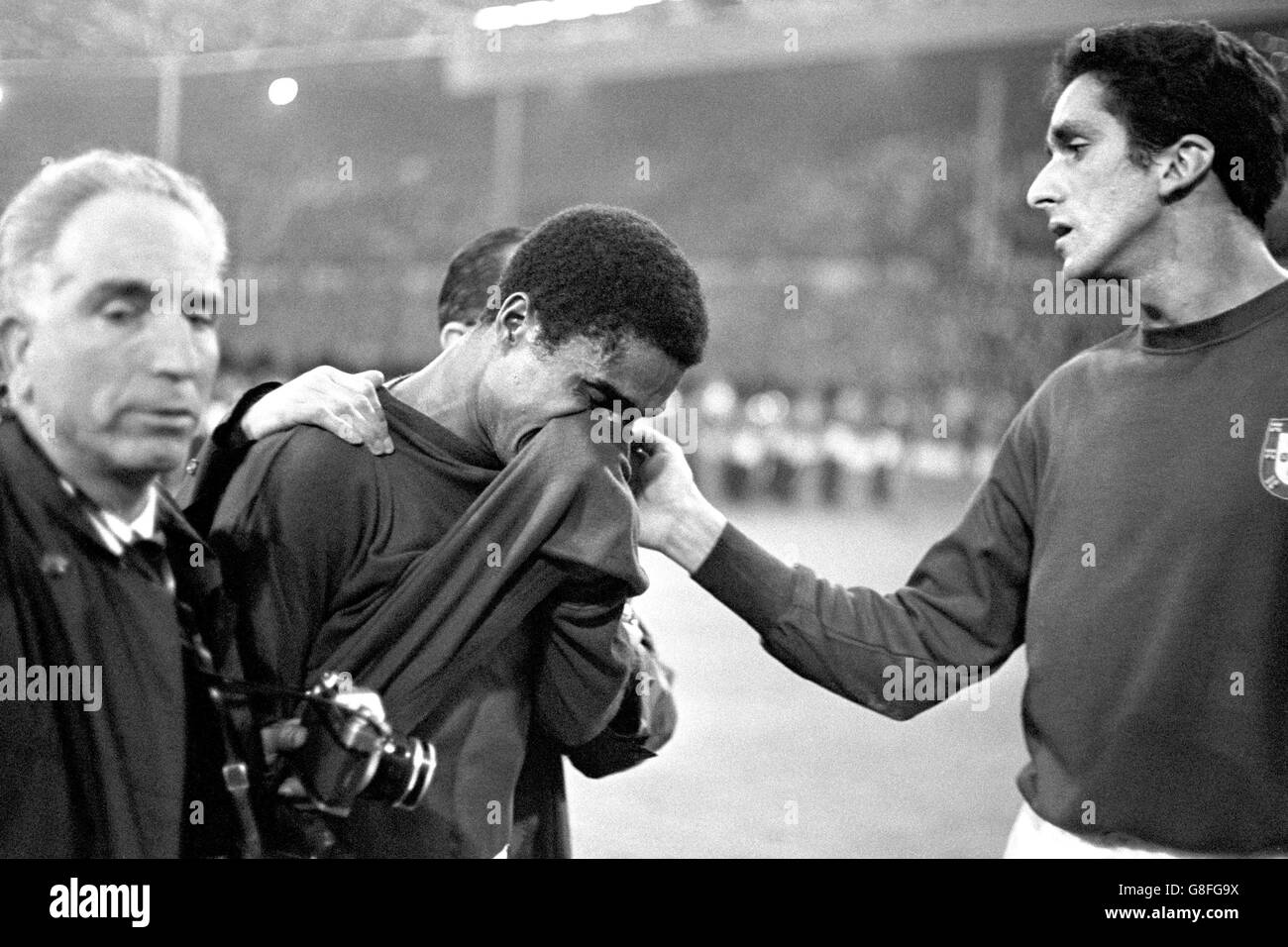 Soccer - World Cup England 1966 - Semi Final - Portugal v England - Wembley Stadium - Stock Image