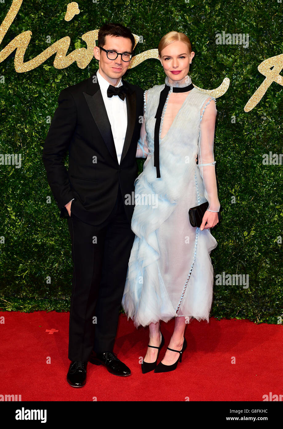 British Fashion Awards 2015 - London - Stock Image