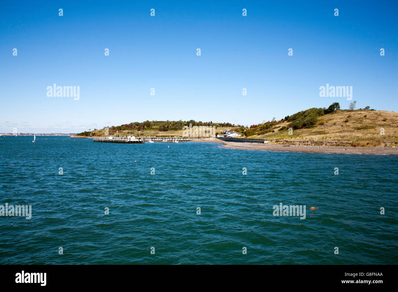 Spectacle Island Boston Harbor Islands Massachusetts USA - Stock Image