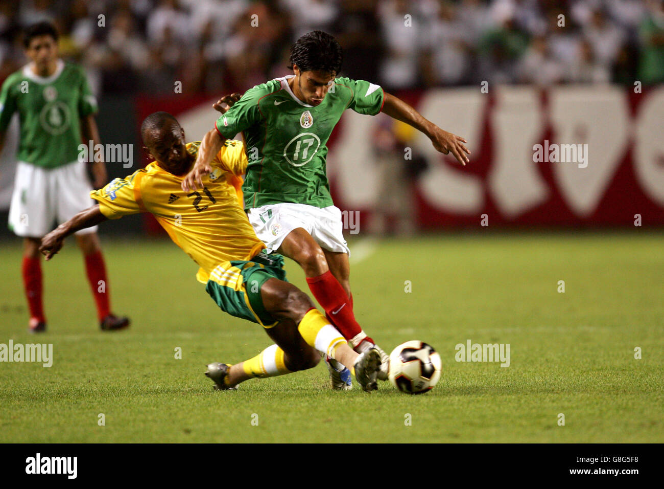 Gift leremi stock photos gift leremi stock images alamy soccer concacaf gold cup 2005 group c south africa v mexico the negle Choice Image