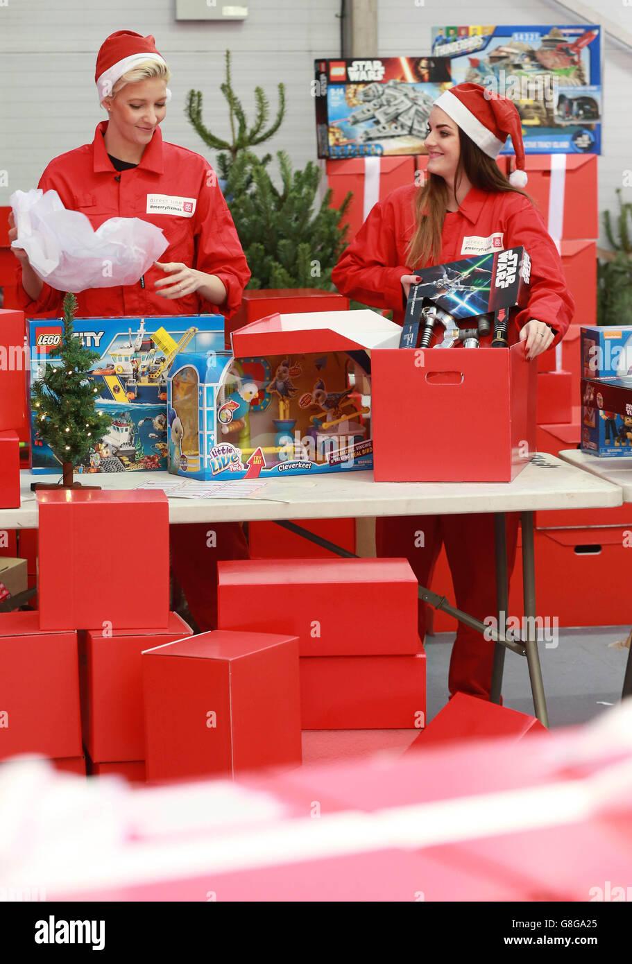 Twelve Dismays of Christmas - Stock Image