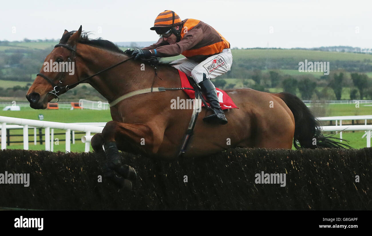 John Durkan Memorial Chase Day - Punchestown Racecourse - Stock Image