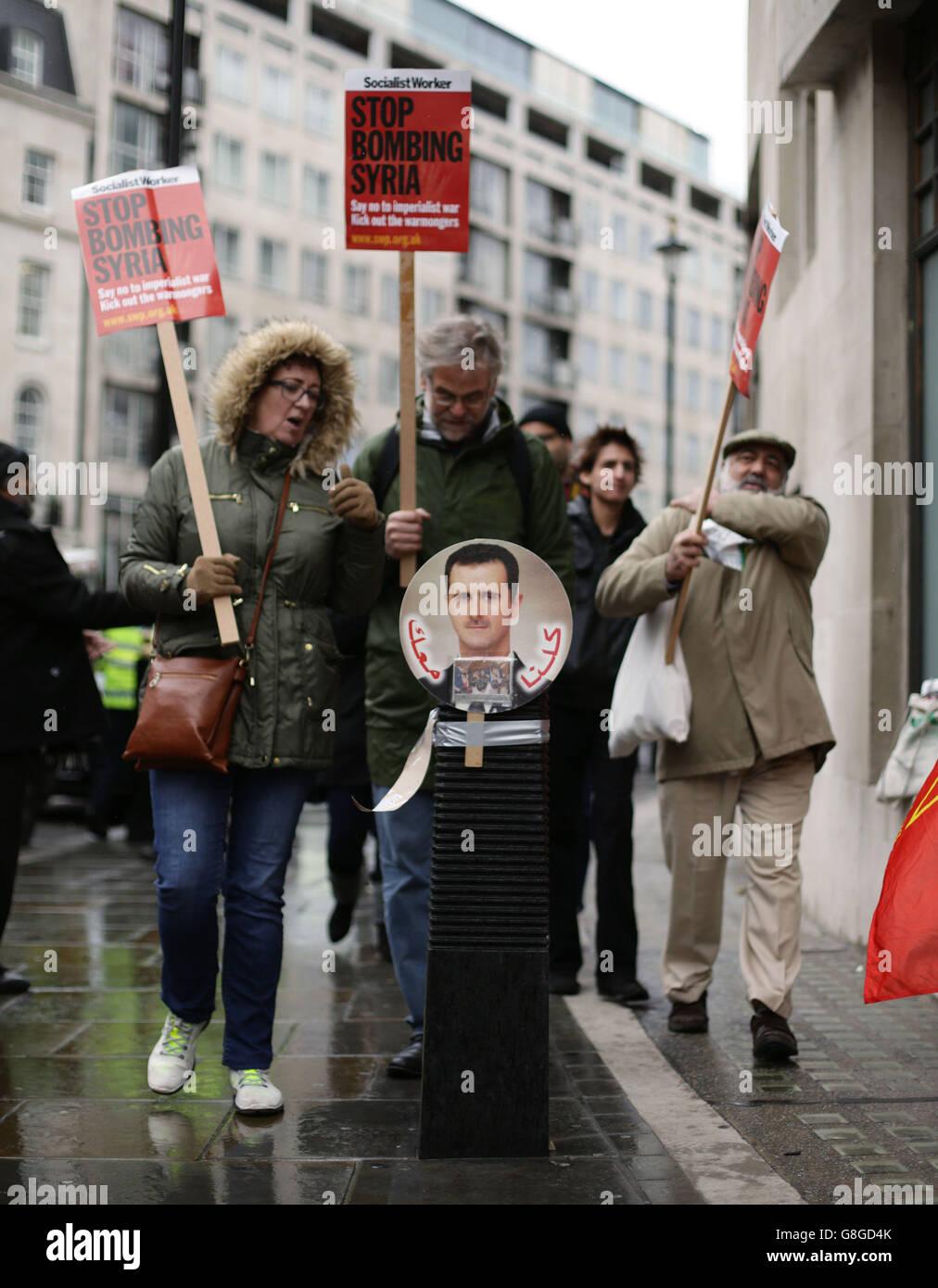 Syria conflict Stock Photo
