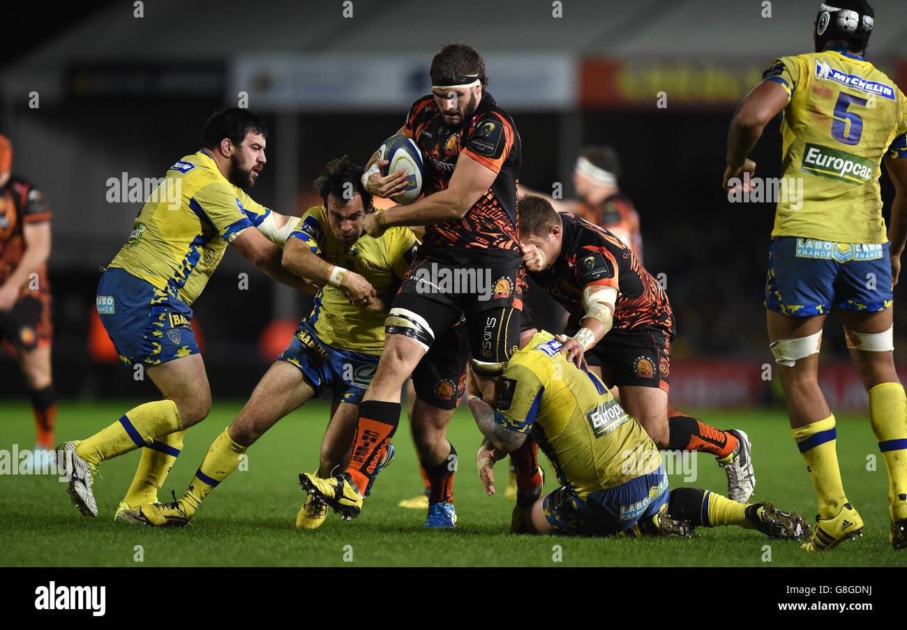 Exeter Chiefs V Clermont Auvergne European Champions Cup Pool