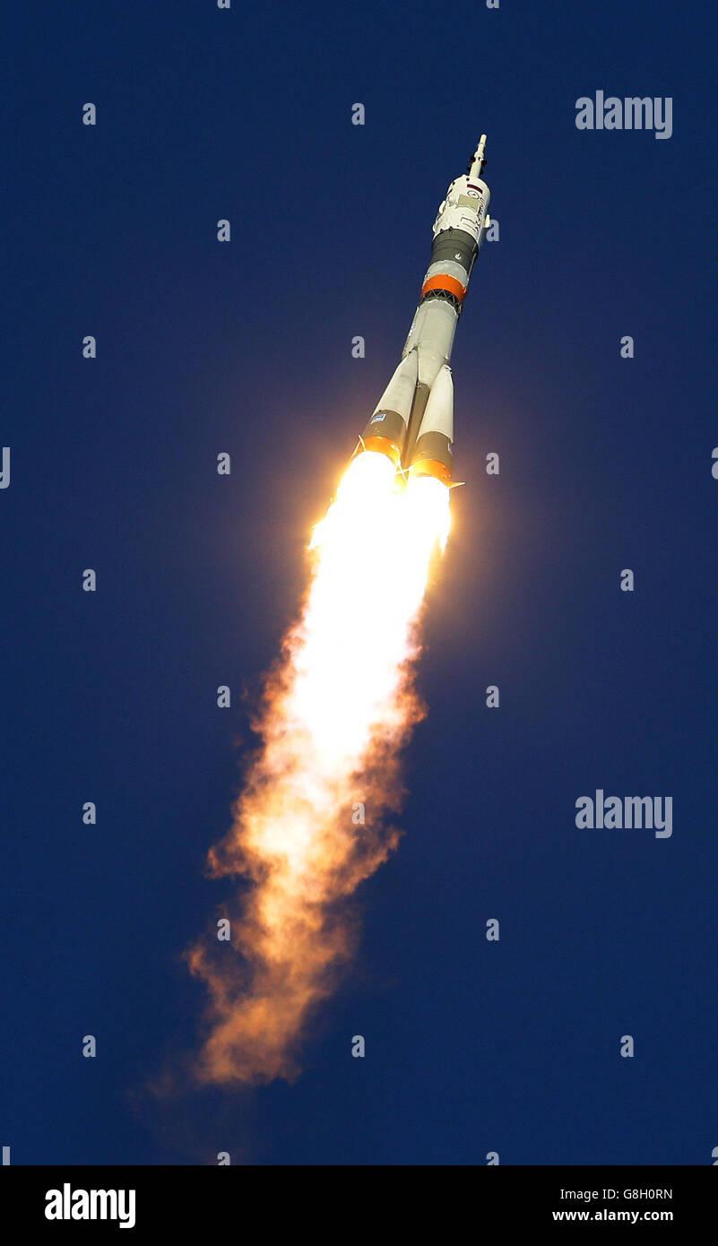 British astronaut Tim Peake - Stock Image