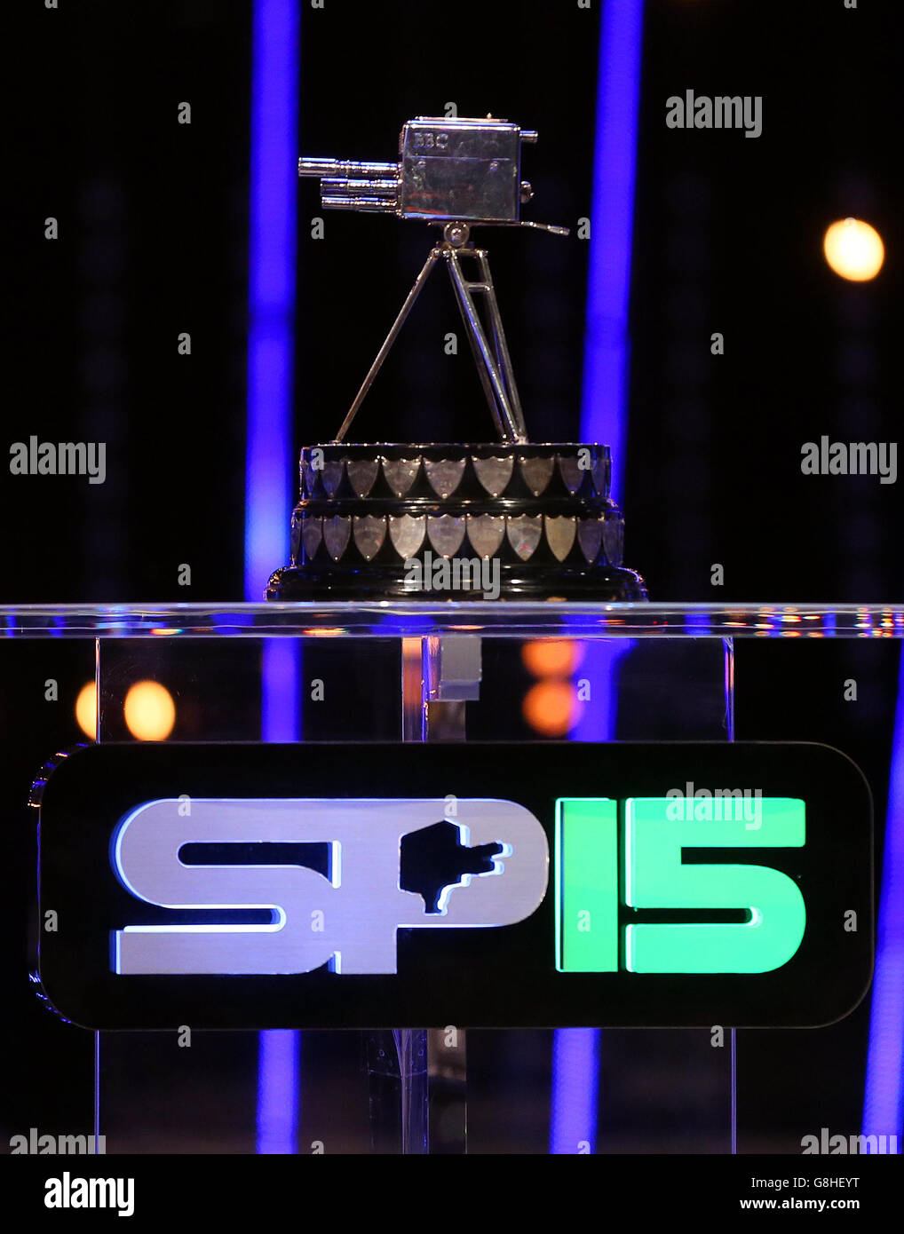 Sports Personality of the Year 2015 - Live Show - Stock Image