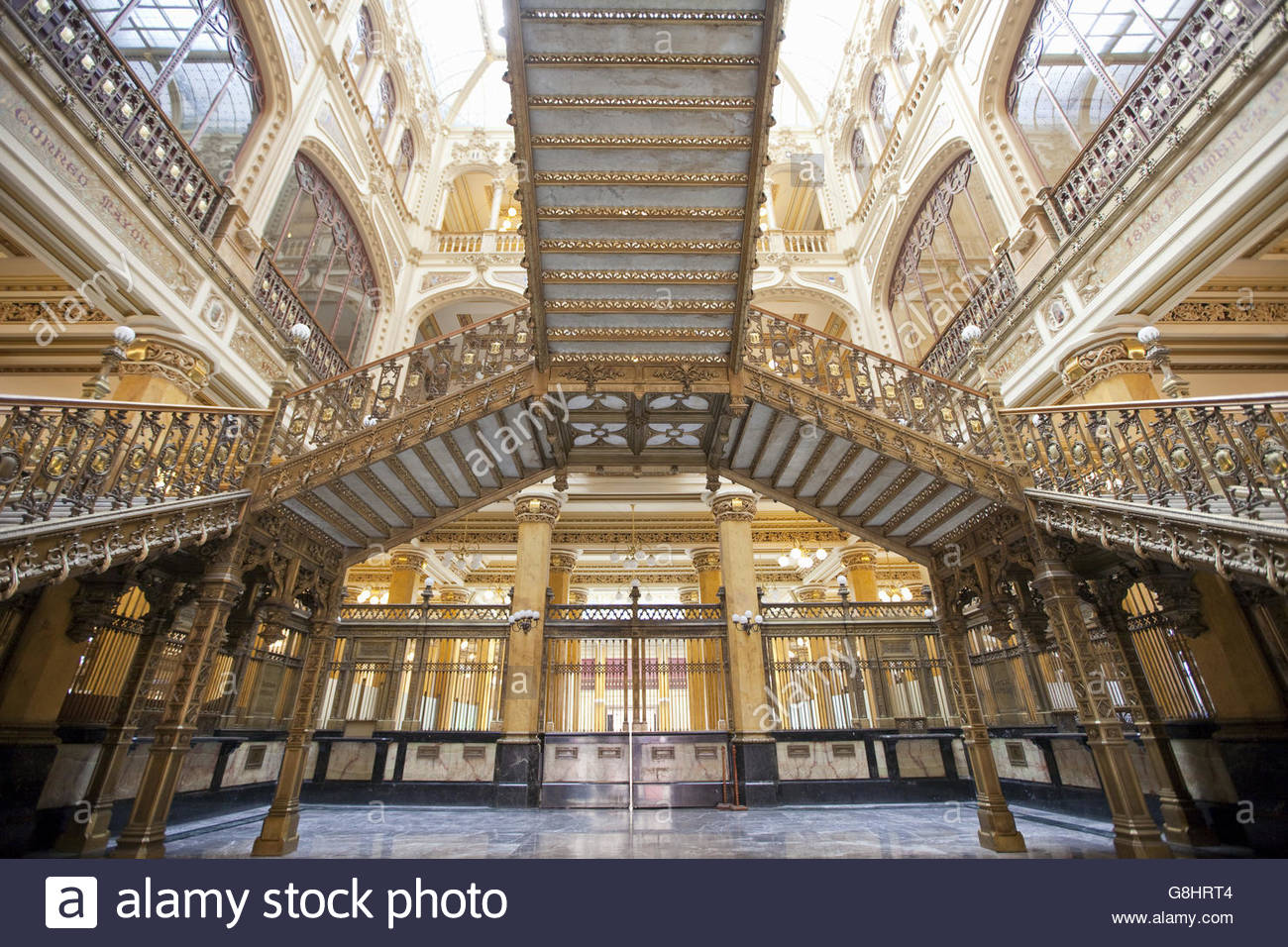 The Palacio de Correos de Mexico (Postal Palace of Mexico City) Mexico City, Mexico - Stock Image