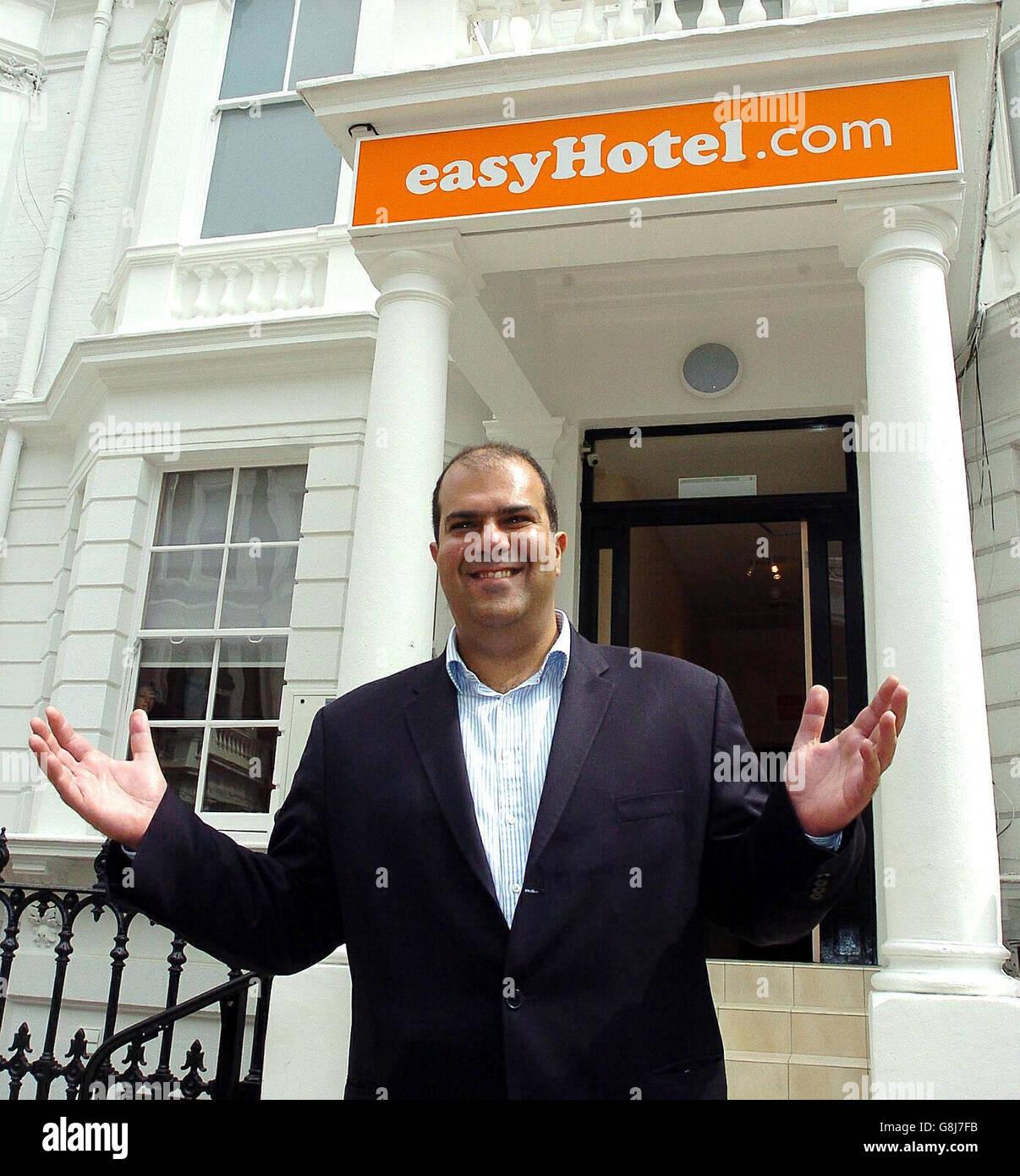 EasyHotel Launch - Lexham Gardens - Earls Court - Stock Image