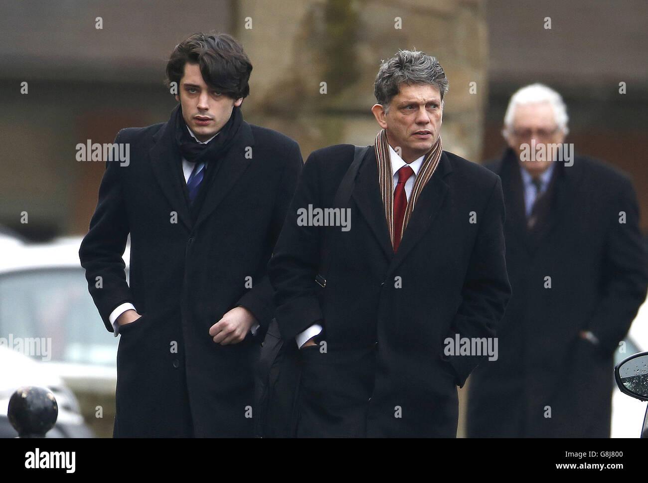 Louis Richardson court case - Stock Image