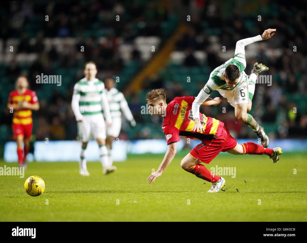 Celtic v Partick Thistle - Scottish Premiership - Celtic Park - Stock Image