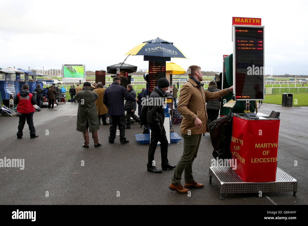 Kempton Park Races - William Hill Lanzarote Day Stock Photo