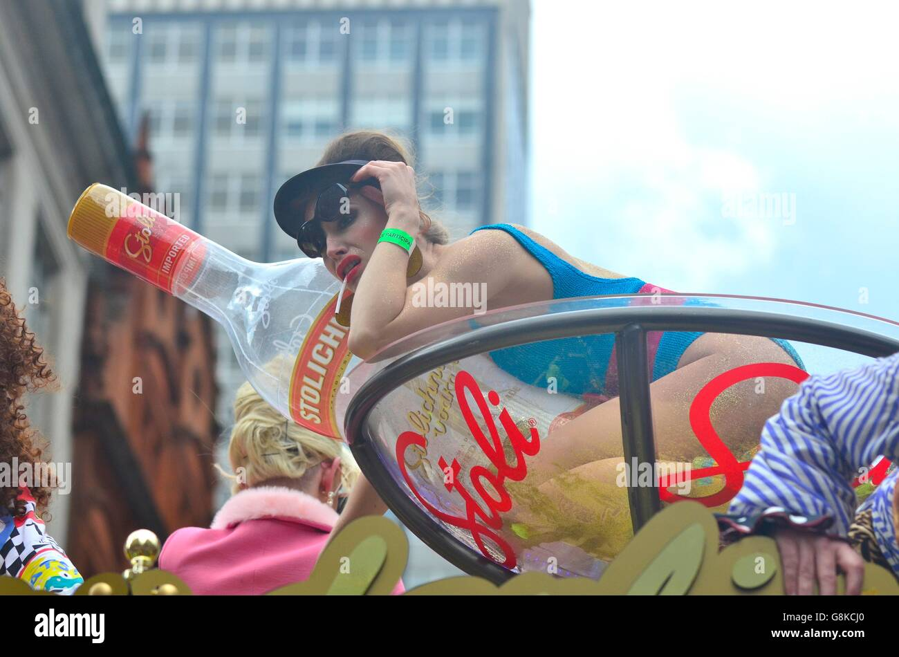 Gay Pride Parade 2016, London, England, UK - Stock Image