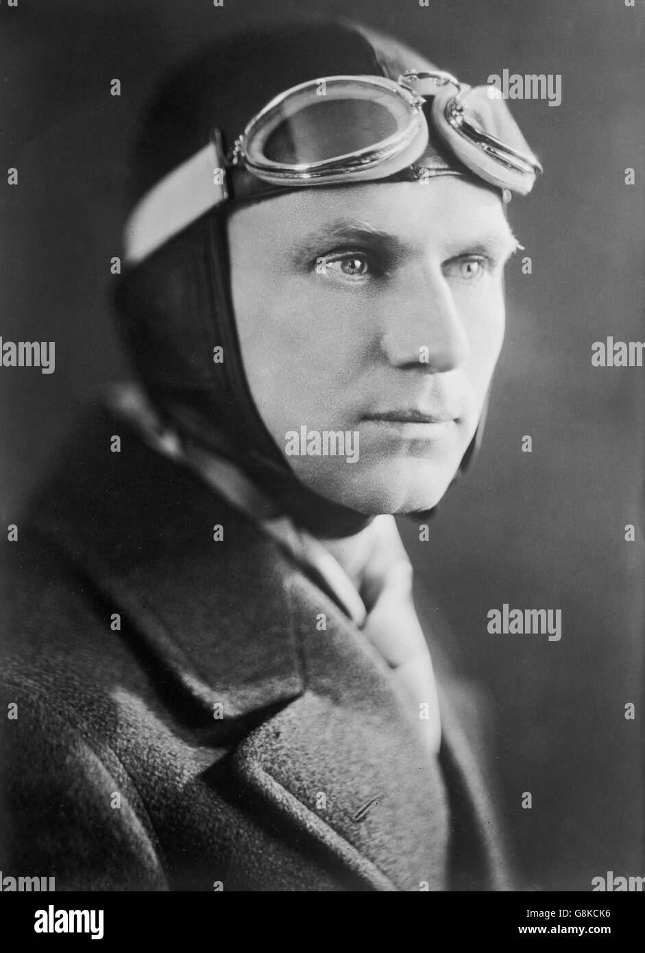 Floyd Bennett, American Aviator, Portrait, Bain News Service, 1927 - Stock Image