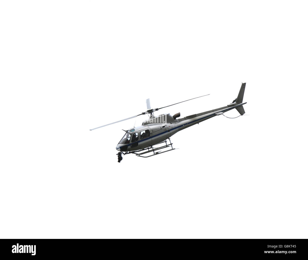 Largest Helicopter Flying In The Sky With Camera For Televising TV Aerial View