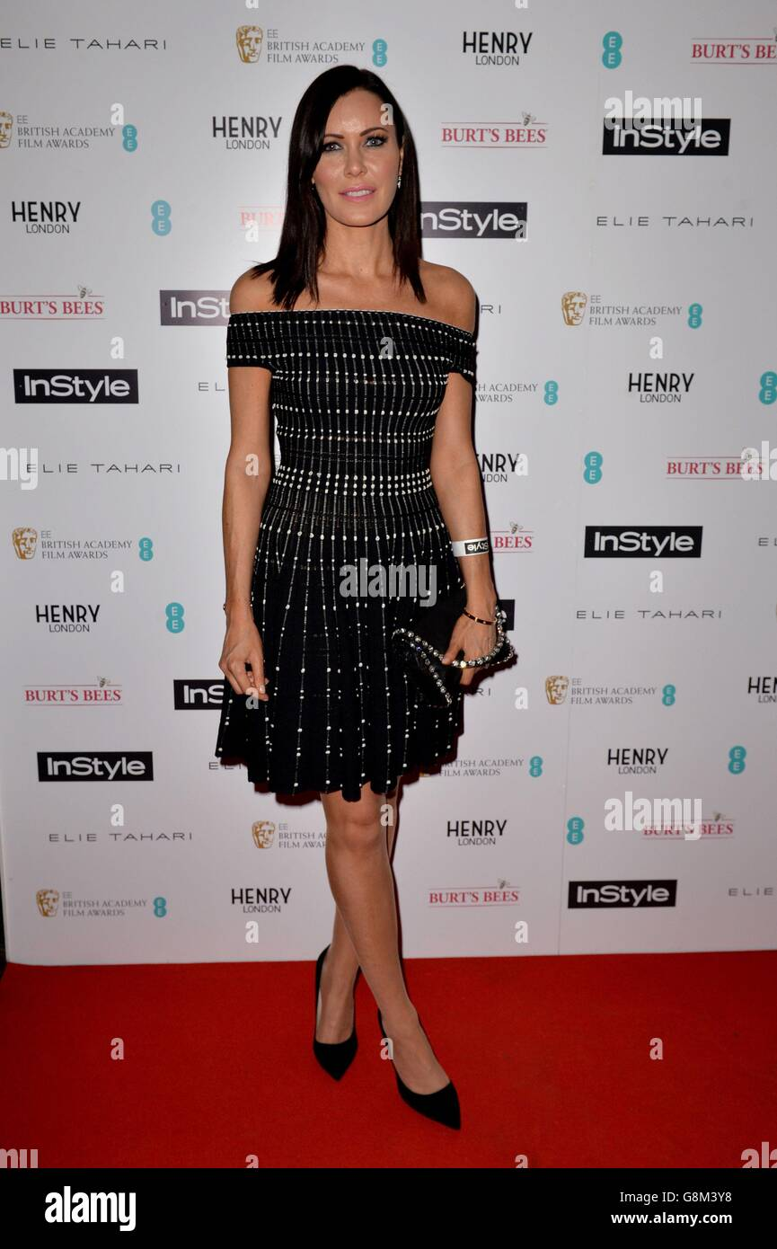 InStyle EE Rising Star party - London - Stock Image