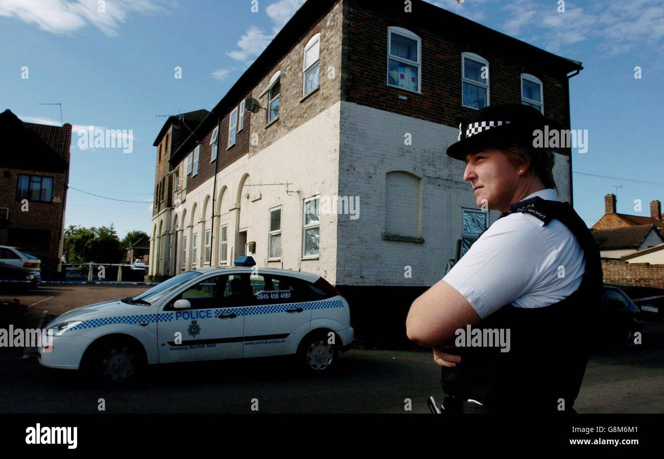 POLICE Blast 1 - Stock Image