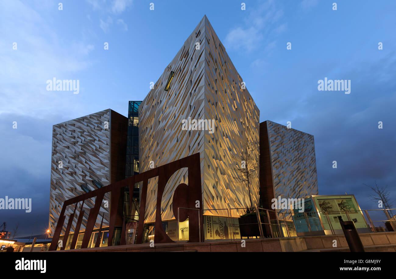 The Titanic Museum - Belfast Stock Photo