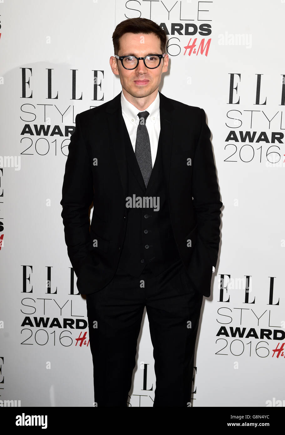 Elle Style Awards 2016 - London - Stock Image