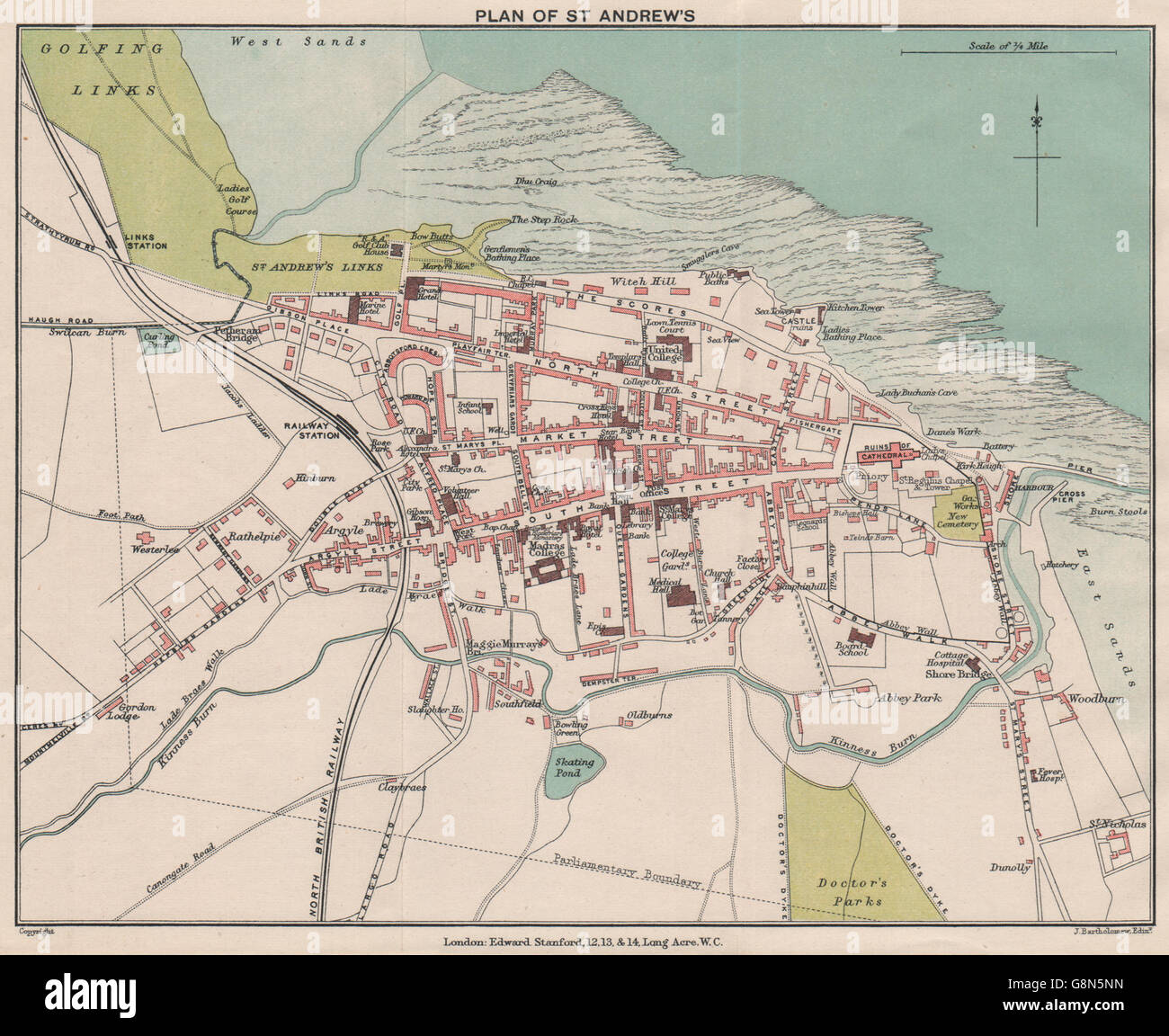 ST ANDREWS. Golf links. Vintage town city plan. Scotland ... on golf austria map, golf italy map, golf spain map, golf in edinburgh, golf in london, battle of culloden map, scotch whisky map, british open map, golf new zealand map, st andrews map, golf portugal map, golf course map, fife map, golf usa map,