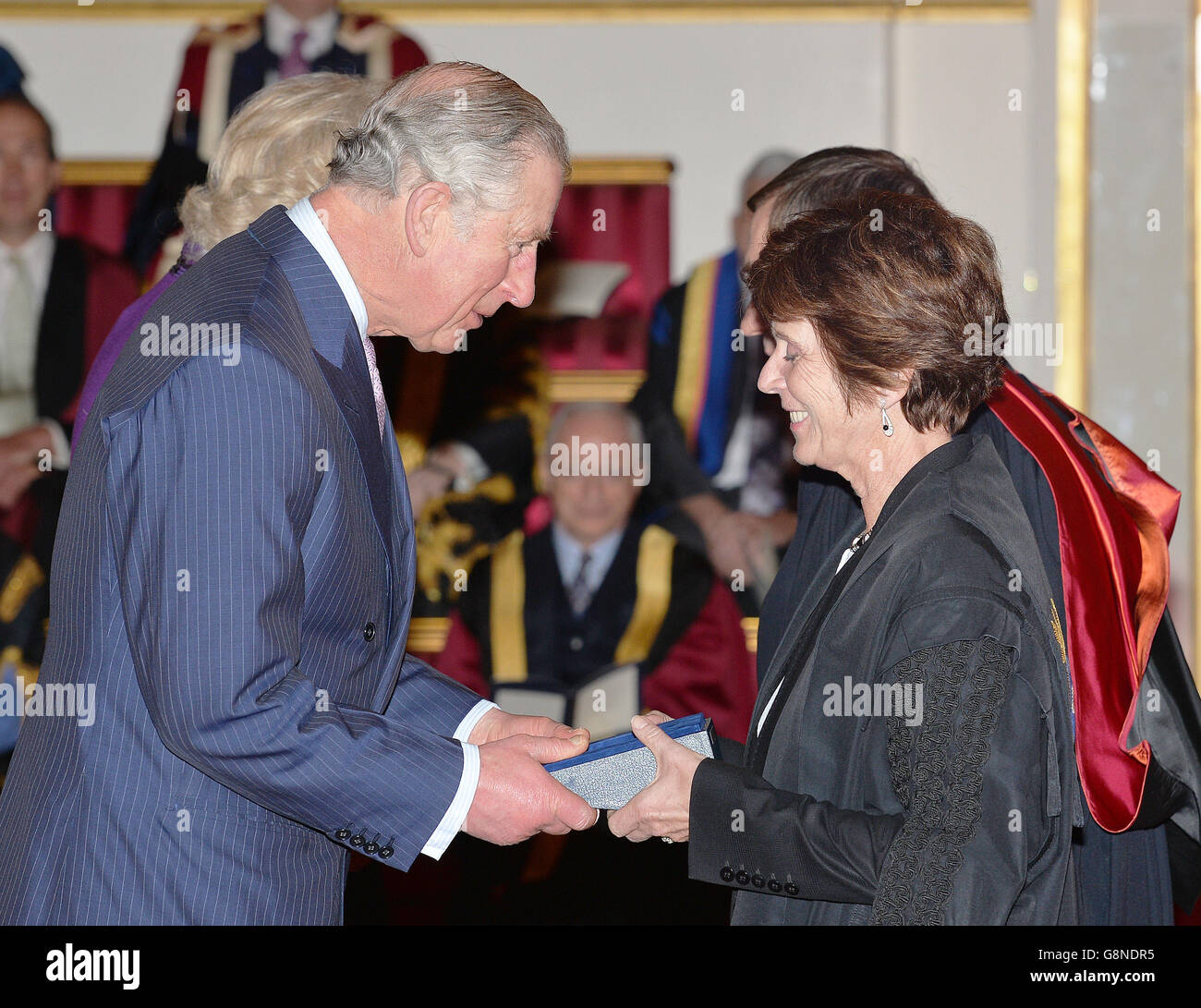 The Queen's Anniversary Prizes for higher and further education - Stock  Image