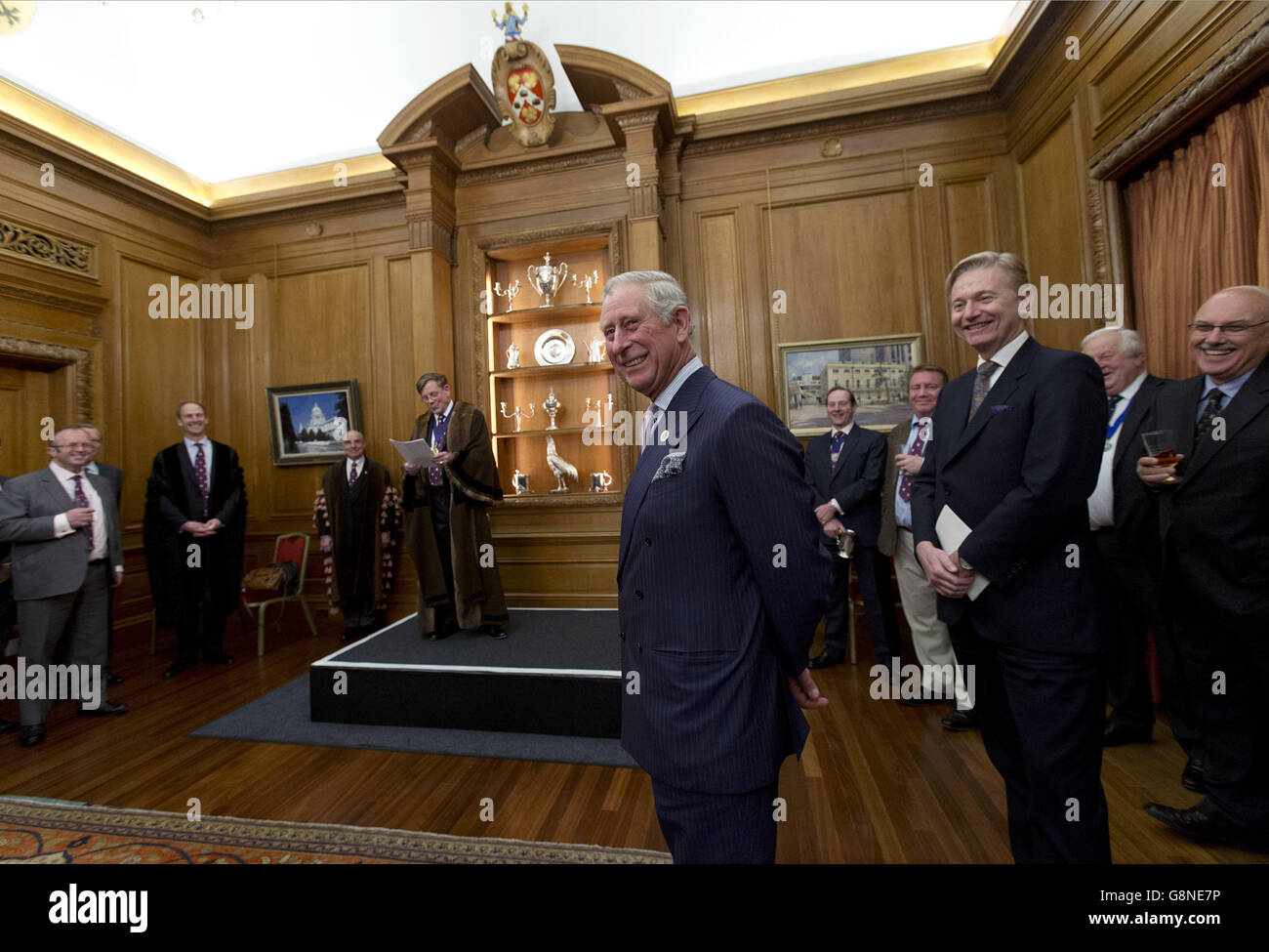 Prince Charles Worshipful Company of Brewers Stock Photo