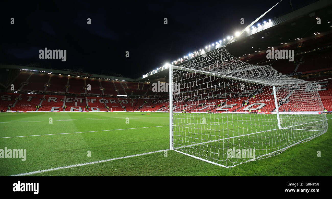 Manchester United v Watford - Barclays Premier League - Old Trafford - Stock Image