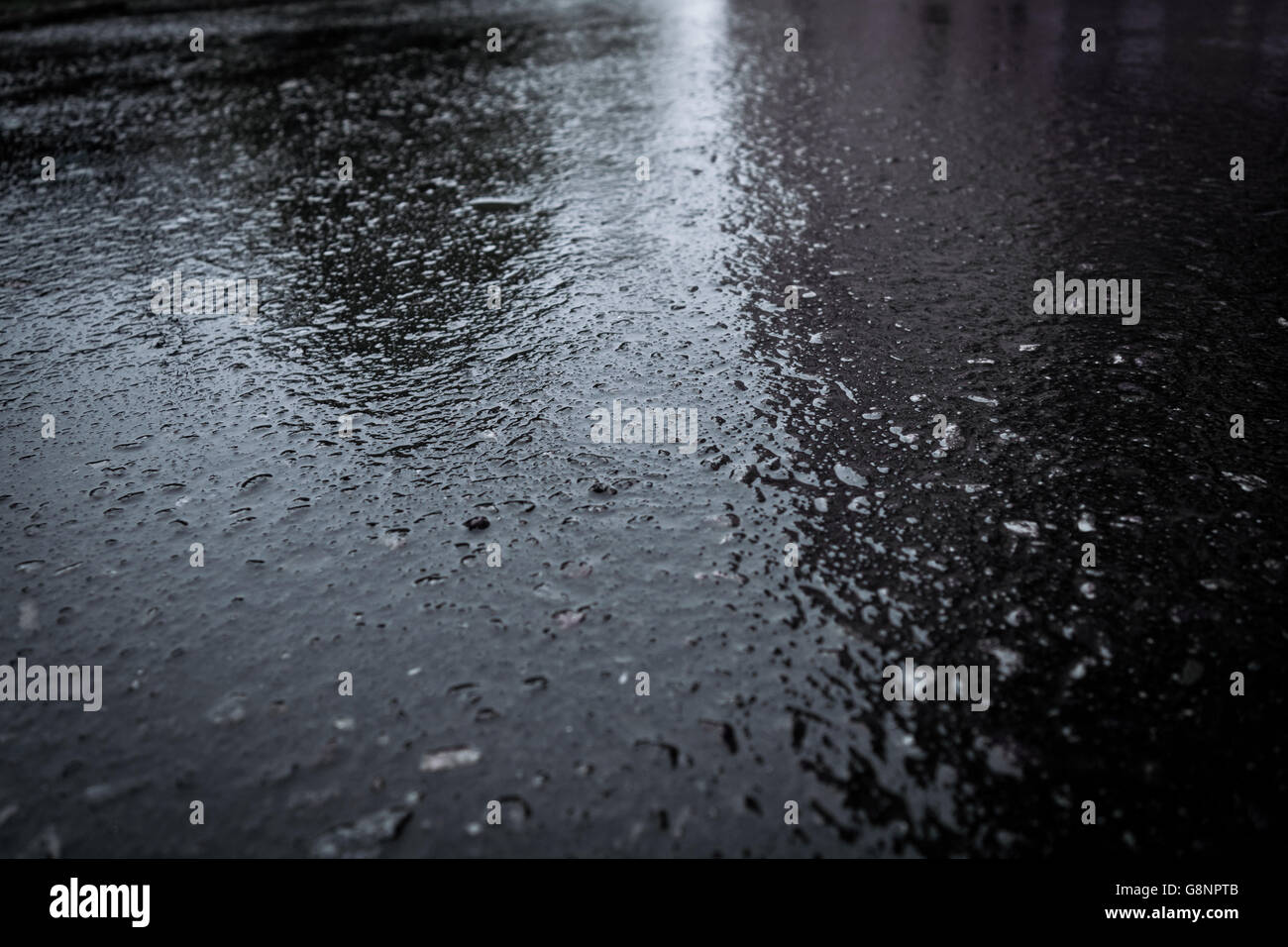 Wet asphalt - the color of calm, harmony and practicality 98