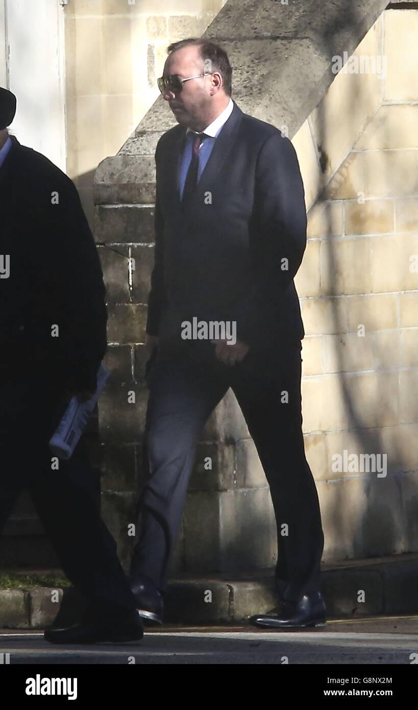 Stephen Ackerman court case - Stock Image