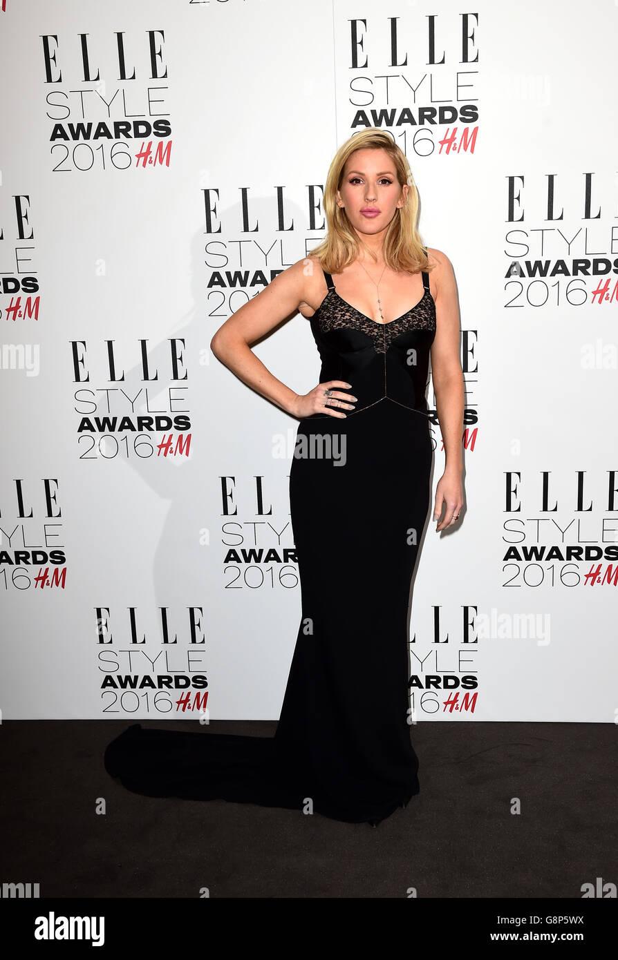 Elle Style Awards 2016 - London - Stock Image