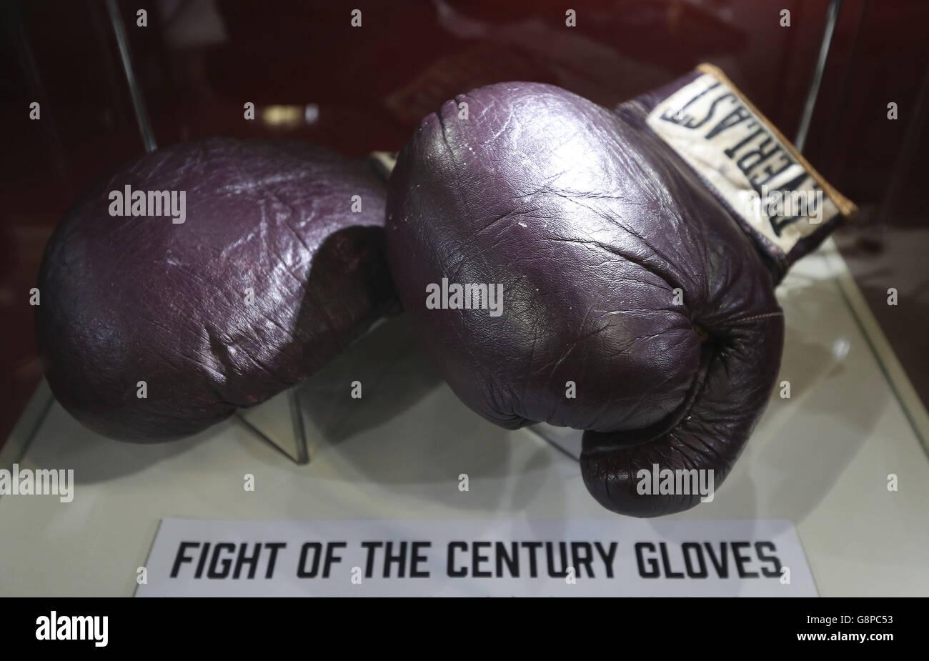 I Am The Greatest: Muhammad Ali at The O2 - London - Stock Image