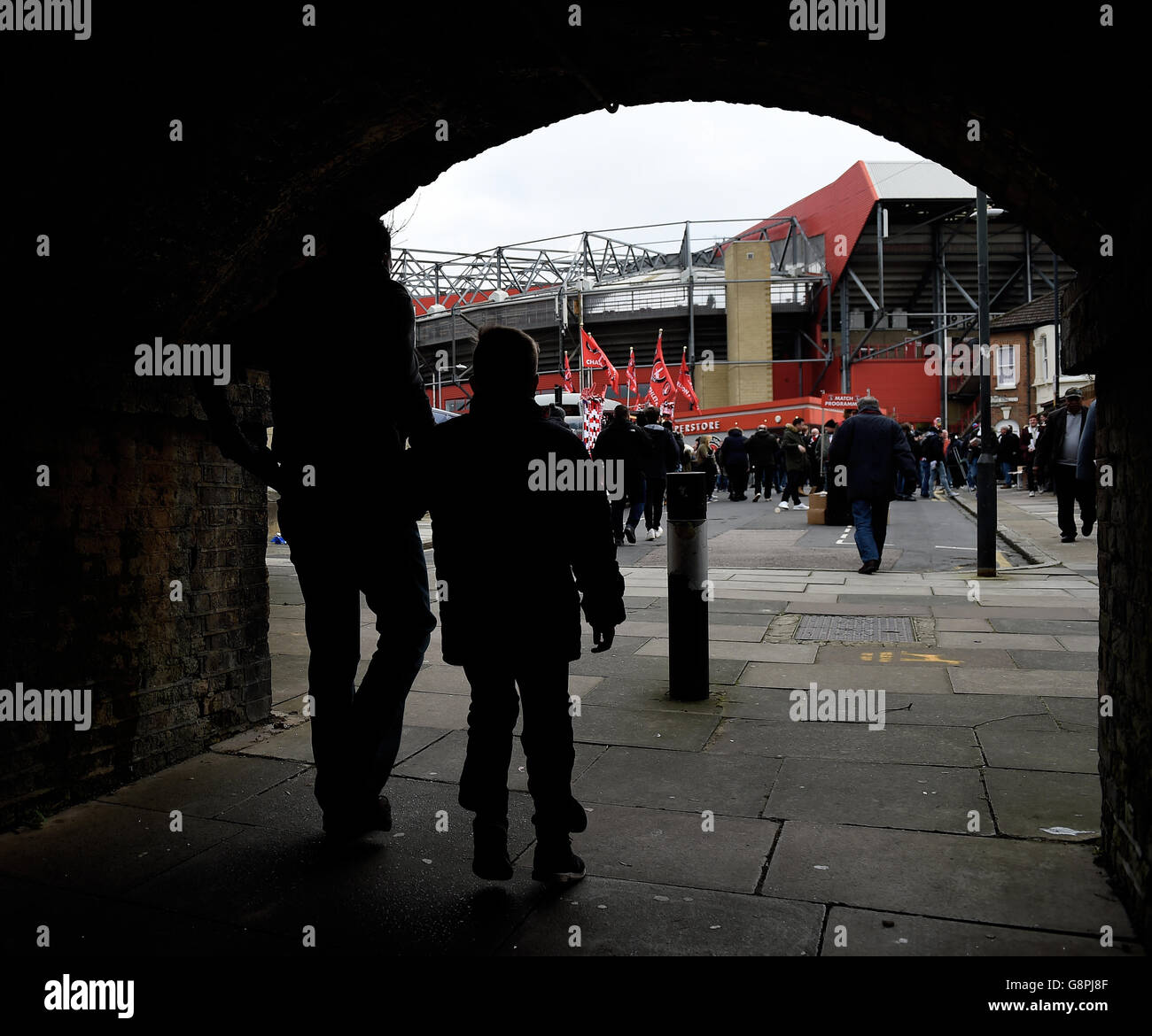 Charlton Athletic v Reading - Sky Bet Championship - The Valley Stock Photo