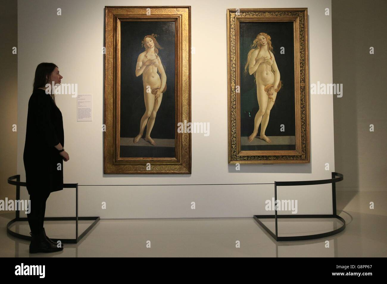 Botticelli Reimagined exhibition preview Stock Photo