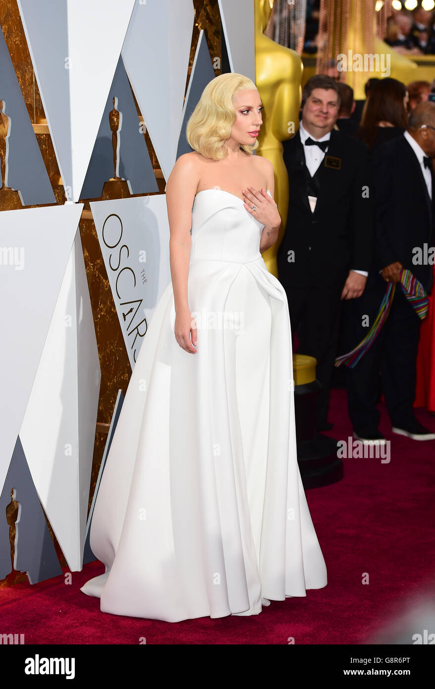 The 88th Academy Awards - Arrivals - Los Angeles Stock Photo