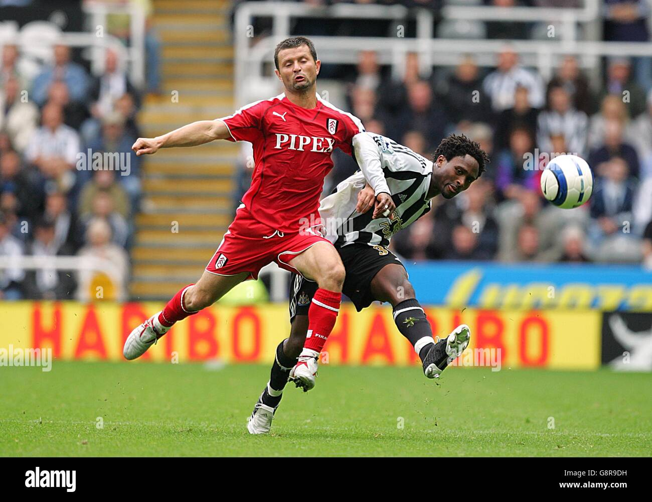Soccer - FA Barclays Premiership - Newcastle United v Fulham - St James' Park - Stock Image