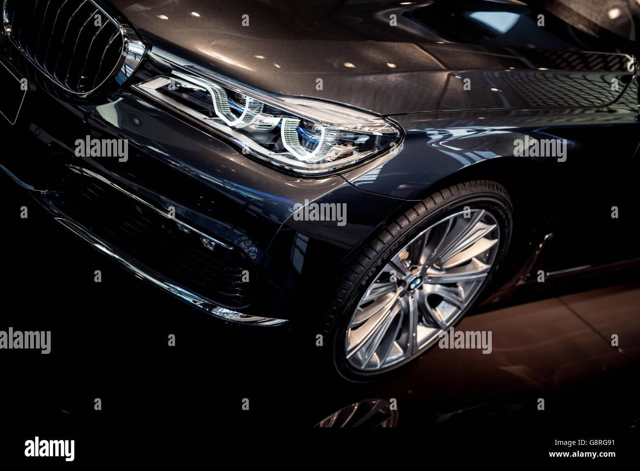 New BMW 7 - Stock Image