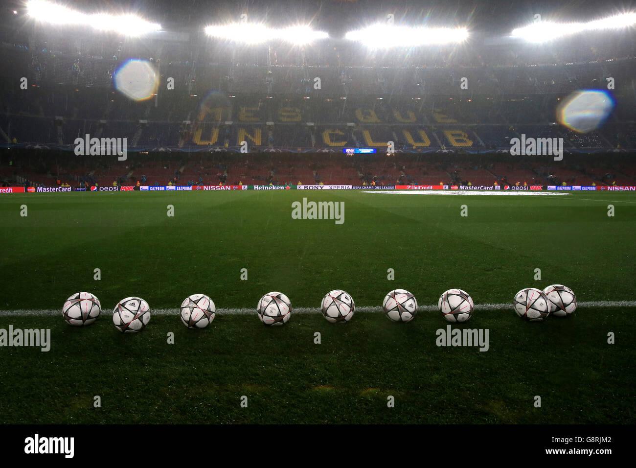 Barcelona v Arsenal - UEFA Champions League - Round of Sixteen - Second Leg - Camp Nou - Stock Image